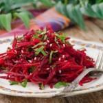 Салат постный с морковью, капустой и свеклой – рецепт с фото